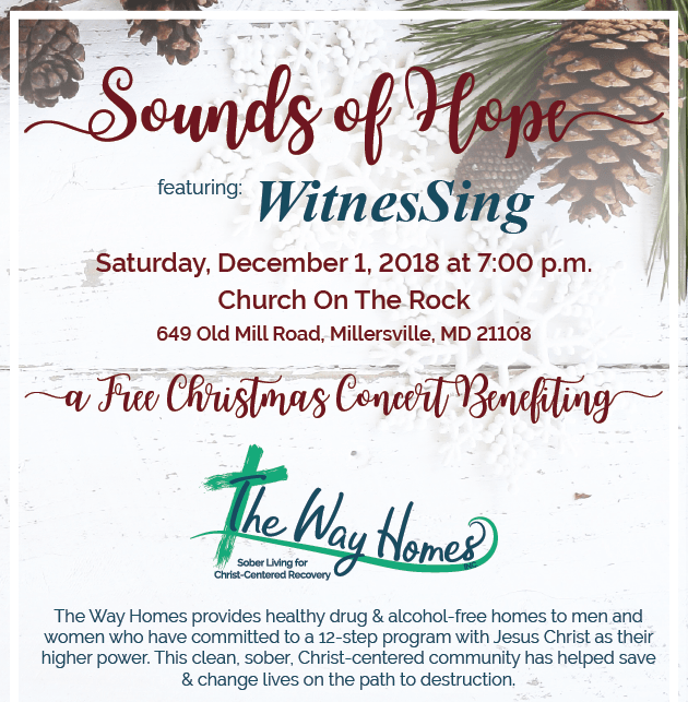 Sounds of Hope - Free Christmas Concert with WitnesSing @ Church on the Rock